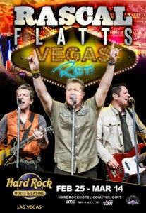 Rascal Flatts Sign Residency at The Hard Rock in Las Vegas Las Vegas Concerts, Las Vegas Shows, Rascal Flatts, Hard Rock, Country Music, Shit Happens, Signs, World, Shop Signs