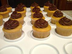 Banana Chocolate Chip Cupcakes w/ Chocolate Buttercream