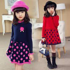 Znalezione obrazy dla zapytania sukienki dla dziewczynek 5-6 lat na drutach