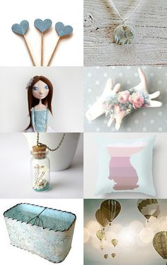 Blue dreams by Tronell on Etsy--Pinned with TreasuryPin.com