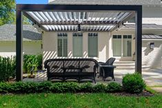 Hereu0027s An Innovative Patio Cover. Itu0027s Just As Pretty As A Pergola, But  Offers So Much More. Adjustable Louvers Rotate Up To 160 Degrees To Allow  Full Sun, ...