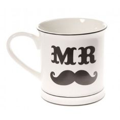 Our Mr Moustache Mug is pleased to meet you and is ready to become a favourite for the man of the house! Featuring a strong black graphic against white ceramic, never has a cuppa been so stylish. Sue Ryder, Please To Meet You, Sass & Belle, Man Of The House, House Gifts, Tk Maxx, Moustache, Fathers Day Gifts, White Ceramics