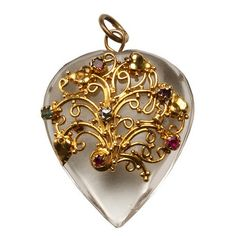a vintage pendant