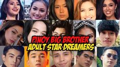 Pinoy Big Brother Adult Star Dreamers Housemates | Makikilala Na! Pinoy, The Dreamers, Brother, Stars, Big, Music, Youtube, Movies, Movie Posters
