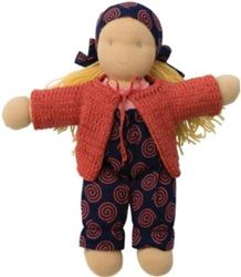 Peppa Waldorf Doll CLaire ~ filled with wool