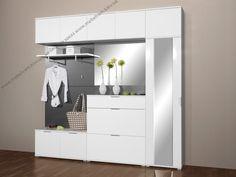 Shoe Storage Ottoman Diy, Entrance Hall Decor, Dressing Table Design, Flur Design, Decoration Entree, Hallway Furniture, Grey Kitchens, Home Interior Design, Sweet Home
