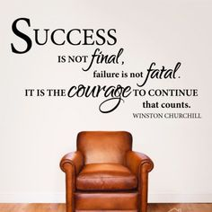 winston churchill quote office wall art stickers decals free post art for the office wall