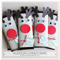 Rudolph Candy bars