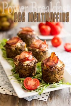 egg in  meat muffins