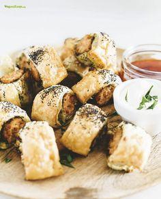 Fancy Vegan Sausage Rolls – Vegan Easy - veganeasy.org