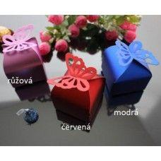 Krabičky s motýlem