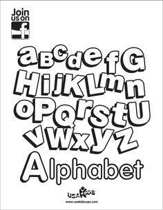 "Celebrate ""Back-to-School"" season with USA Kids' Alphabet coloring sheet!"