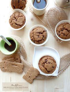 muffin con speculoos #senzalattosio