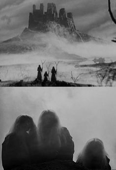 Three Witches in Macbeth (1948, dir. Orson Welles)