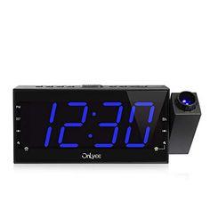 Home Decor Purposeful Electronic Led Digital Alarm Clock Temperature Sounds Control Wooden Table Clock Calendar Display Desktop Clock Best Selling Clocks