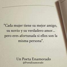 palabras para enamorar a un hombre que me hace afortunada #Enamorarhombre