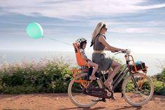 Portare i figli in bici è una grande responsabilità! Ecco come renderlo più sicuro. http://goo.gl/jVa00Z