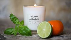 Scented Candle of Lime-Basil-Mandarin.....Fresh, zesty citrus together with warm scent of woodThese handmade candles, made from 100% Natural Wax just outside the historic city of Bath, are rapidly gaining a committed following. They are made by a local candle maker here in Wiltshire and each is hand poured into a beautiful glass pot, using high quality fragrances and finest wicks for that ultimate result. They come in four glorious scents and in four useful sizes, perfect for that little…