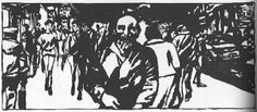 Par la bande: Le Portrait, d'Edmond Baudoin (1990) (2e partie)