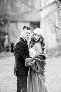 Lavish Love in a Forgotten Forest {Real Bride} | Confetti Daydreams - Romantic couple photo pose ♥  ♥  ♥ LIKE US ON FB: www.facebook.com/confettidaydreams  ♥  ♥  ♥ #Post-Wedding #StyledShoot #ForestWedding