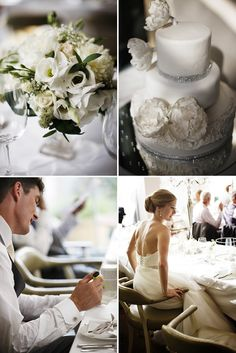 Peonies And Pearls At Babington House.   http://www.rockmywedding.co.uk/peonies-and-pearls-at-babington-house/