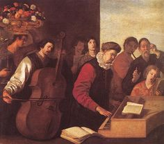 Aniello Falcone (Italie, ) – Le Concert (1e moitié du XVIIe siècle) Museo Nacional del Prado, Madrid