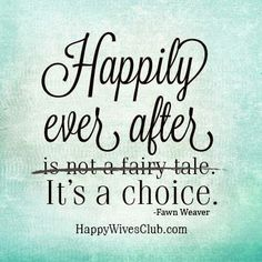 Happily ever after i...