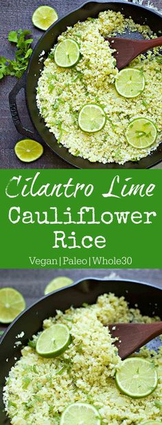 Riced cauliflower is dressed up with the most delicious cilantro lime sauce! This super simple side dish is perfect for anything spicy or full of flavor. This recipe is long overdue! I used to make a Cilantro Lime Rice dish almost exactly the same way as this, but decided to rice some cauliflower for a...Read More »