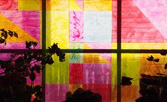 DIY Stained Glass effect with Gallery Glass! So pretty! #plaidcrafts