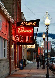 Original Irma Restaurant / Grill Neon Sign