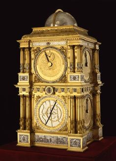 Planetarium: Baldewein, Eberhard (producer) Dippel, Hermann (engraver) Bucher, Hans (watchmaker) Marburg and Kassel 1563-1568,