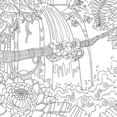 free coloring pages for adults - koloringpages | work - color ... - Tropical Coloring Pages Print