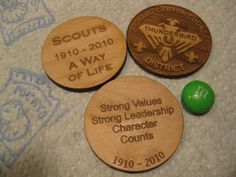 Scouts love coins