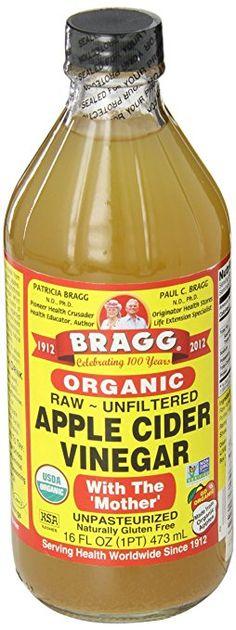 Organic Apple Cider Vinegar to treat skin tags