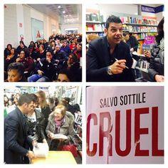 #SalvoSottile Salvo Sottile: #laquila #instore #cruel #ioleggoCruel Grazie!!