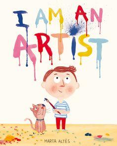 Marta Altés, ilustradora catalana con base en Londres - i_am_an_artist_marta-altes_lr