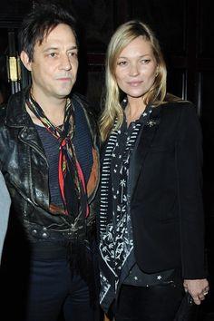 Kate Moss & husband Jamie Hince