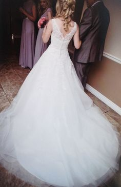 Justin Alexander 8630 Tulle Size 6 Wedding Dress For Still White United Kingdom