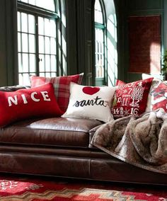 fun Christmas pillows