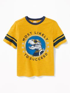 Graphic Football-Style Tee for Toddler Boys  5ad515e6a