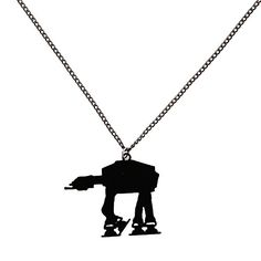 Star Wars Jewelry - AT-AT Imperial Walker Pendant Necklace