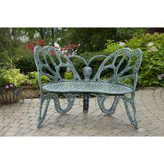 Flowerhouse Butterfly Garden Bench (Antique)
