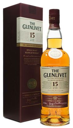 The Glenlivet 15 y. French oak