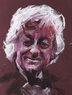 DOCTOR WHO -3rd Doctor Portrait Print from BurnCentreTime of Glasgow, UK