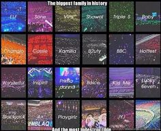 Fandoms need to stop fighting because we are one big family of k-poppers, so we must stick together.