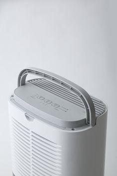 The dehumidifier with moderate design that departed form conventional and mechanical designs. Friendly and cozy imaged dehumidifier which does not boost its presence.