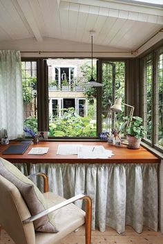 Henrietta Courtauld The Land Gardeners London Home remodelling remodelled by Retrouvius   House & Garden Garden Office, Home Office, Study Design, Library Design, London House, Victorian Terrace, Cladding, Ideal Home, Home Remodeling