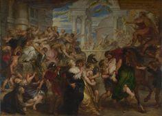 Peter Paul Rubens: 'The Rape of the Sabine Women'