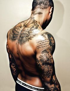 Back and arms tattoo  #mens #tattoo #ink