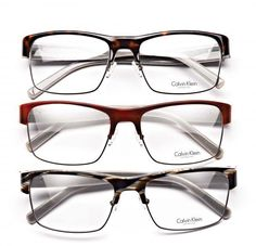 Calvin Klein Collection 7327 is sophisticated and chic. The combination of rich plastics and fine metals create a look that is modern with a hint of 1950's flare.